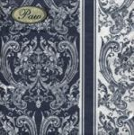 Royal pattern dark blue