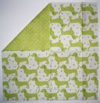 IHR Dotty dog light green 1/2 - 2-seitig!