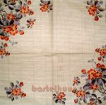 Japanese flower beige 1/2