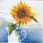 Sunflower in jug