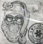 IHR Santa in nature grey 1/2