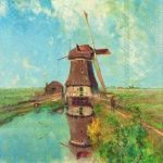 IHR Windmill painting