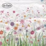 Enchanted floral meadow