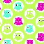 Owls light green