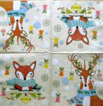 IHR Dotty deer and funny fox 1/2