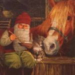 Nisse with horse