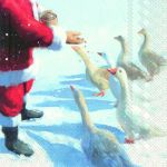 IHR Goose and Santa