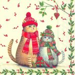 IHR Christmas cats