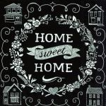IHR Home sweet home black