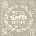 IHR Home sweet home linen