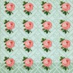 Small vintage roses
