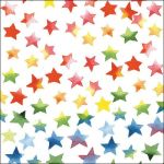 Colourful stars mix
