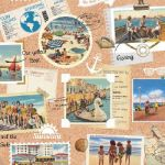 Vacation scrapbook