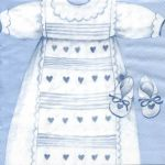IHR Christening robe blue
