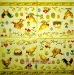 IHR Easter needlepoint yellow