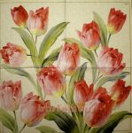 IHR Tulips blooming cream 1/1