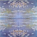 IHR Waterlilies blue