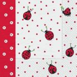 Ladybirds and dots